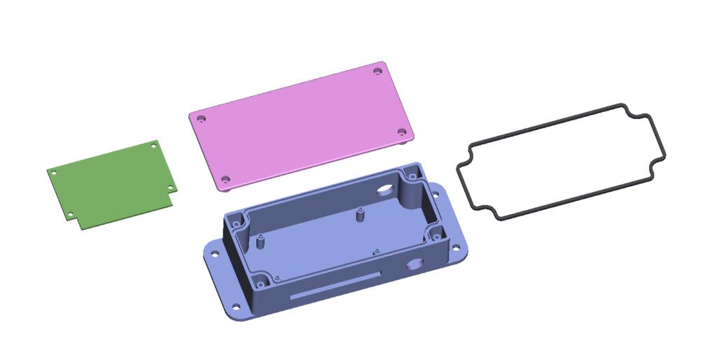 Brandstofmeter ontwerp