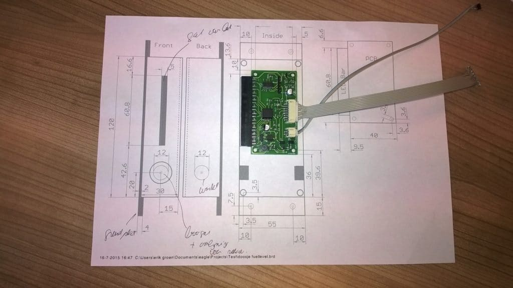 De printplaat PCB